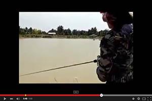 La mujer y la pesca