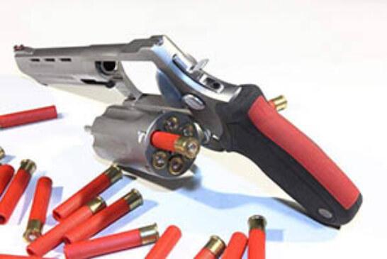 FOTO DEL DÍA: Pistola de cartuchos