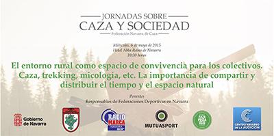 Charla sobre el entorno rural como espacio de convivencia para distintos colectivos hoy en Pamplona