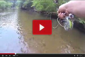 ¡Espectacular lance de pesca!