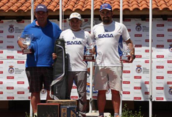 Los vascos Iñaki Ortiz, Adur Alustiza y Javier Ayarza suben al podio en el Campeonato de España de Recorridos de Caza