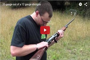 Esto es lo que sucede si disparas un cartucho del calibre 20 en una escopeta del 12