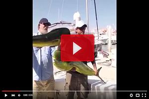 ¡Qué sorpresa, se lleva este pescador!
