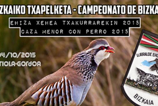 Campeonato de Bizkaia de caza menor con perro 2015