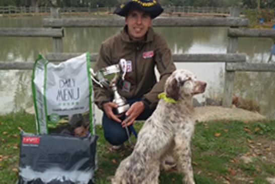Arkaitz Egaña revalida el título de Campeón de Euskadi de Caza Menor