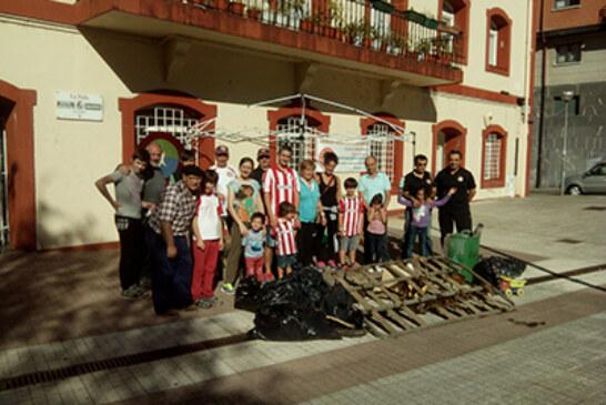 200 kilos de basura recogidos en el Día del Río del C.D.Abusu