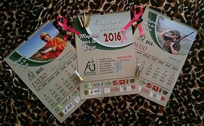 Jóvenes por la Caza pone a la venta sus calendarios benéficos
