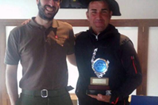 Rubén San Vicente campeón alavés de becadas