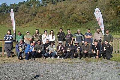 Final de la liga de Field Target de Euskadi 2015