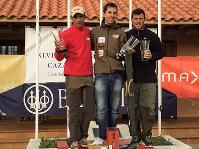 Arkaitz Egaña consigue la hazaña de calzarse la segunda txapela del Campeonato de España de caza menor con perro
