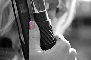 Foto del día: La mujer y la caza