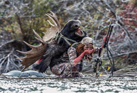 Foto del día: Mujer cazadora