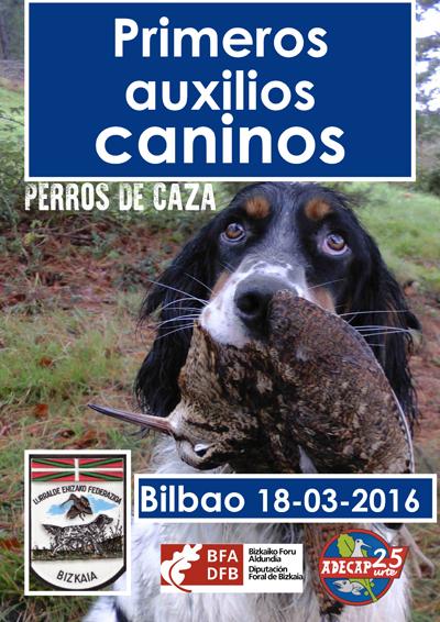 Jornada sobre primeros auxilios caninos