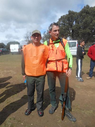 Celebrada semifinal del Campeonato de caza amateur de Vitigudino