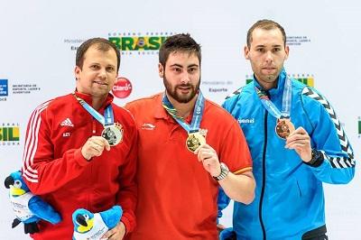 Pablo Carrera, oro en la Copa del Mundo de Río en Pistola 10M