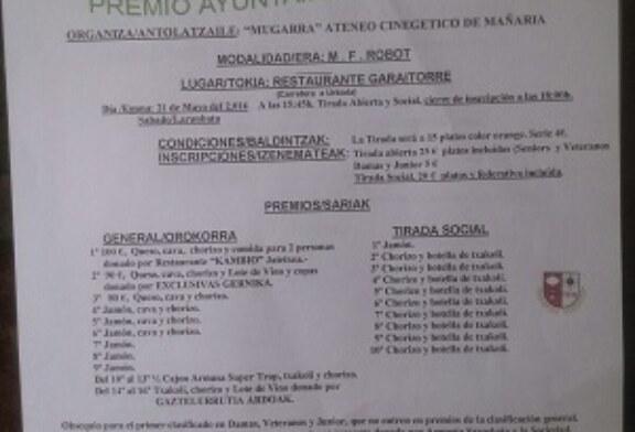 Premio Ayuntamiento de Mañaria