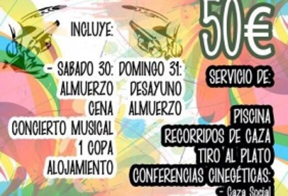Jóvenes cazadores extremeños, gallegos y andaluces celebrarán una convivencia en Archidona el 30 y 31 de julio