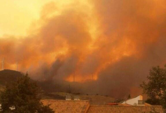 Los bomberos estabilizan el incendio en Navarra, que afecta ya a más de 2.300 hectáreas