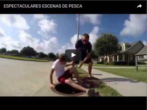ESPECTACULARES ESCENAS DE PESCA