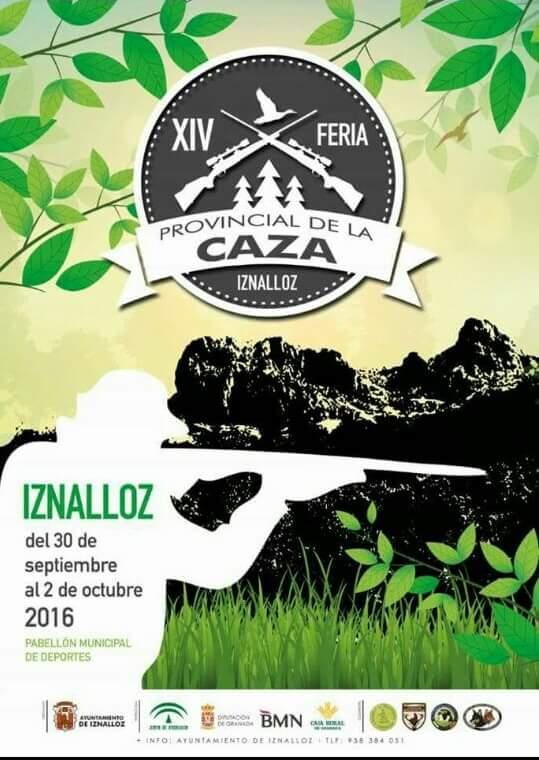 Hasta 18.000 personas se esperan en la Feria de la Caza de Iznalloz a partir de este viernes