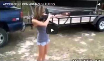 ACCIDENTES CON ARMAS DE FUEGO