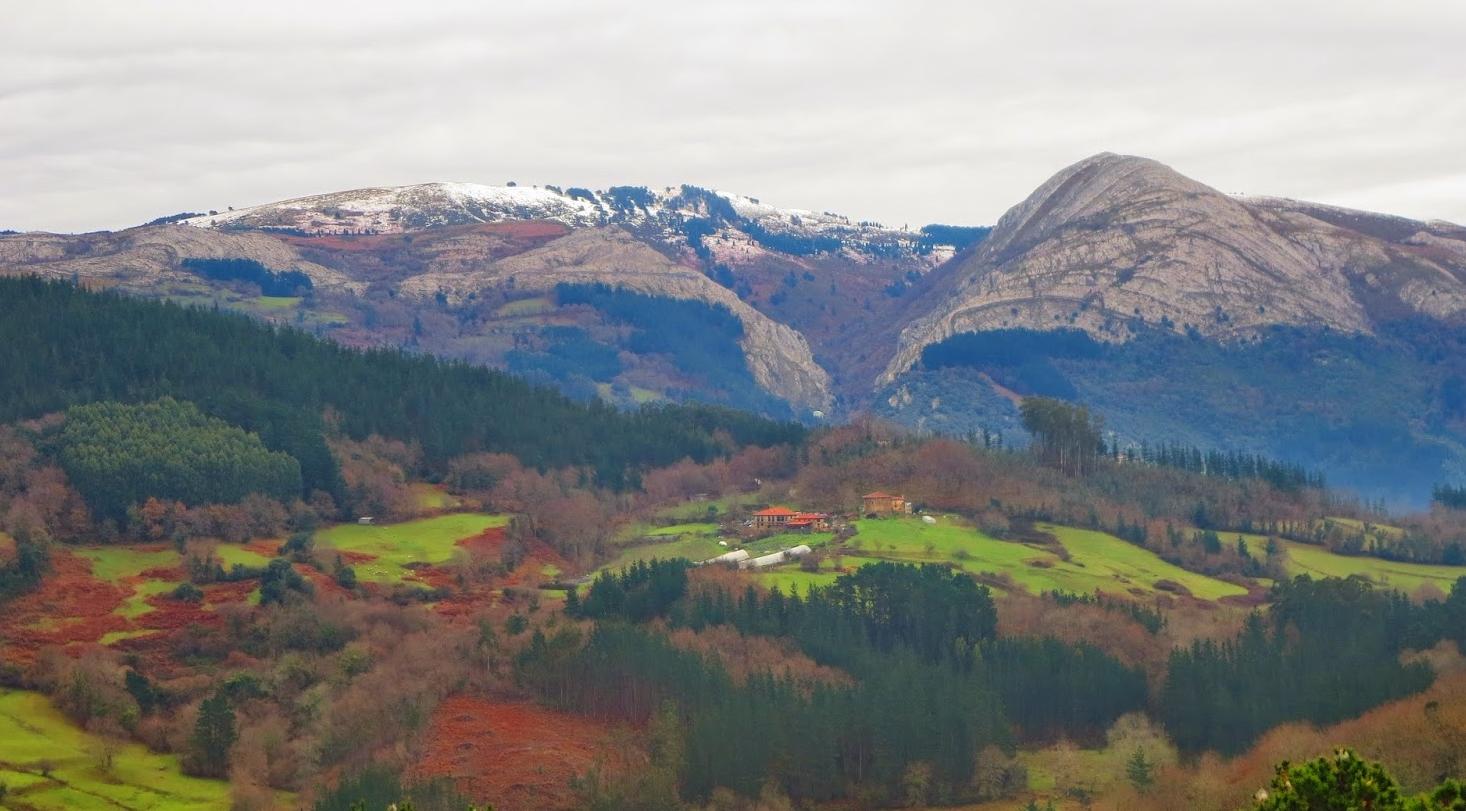 Euskadi, con un 1 % del territorio de la UE, alberga el 35 % de los hábitats de interés europeo