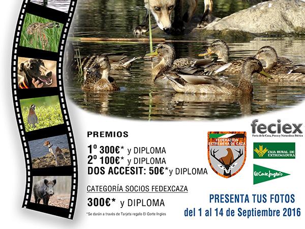 III Concurso de Fotografía de Caza FEDEXCAZA