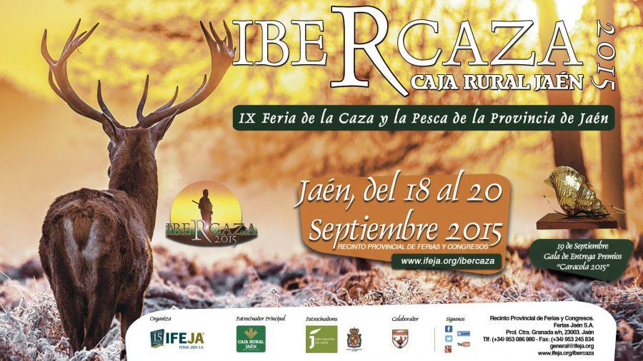Llega Ibercaza 2016 a Jaén del 16 al 18 de septiembre.