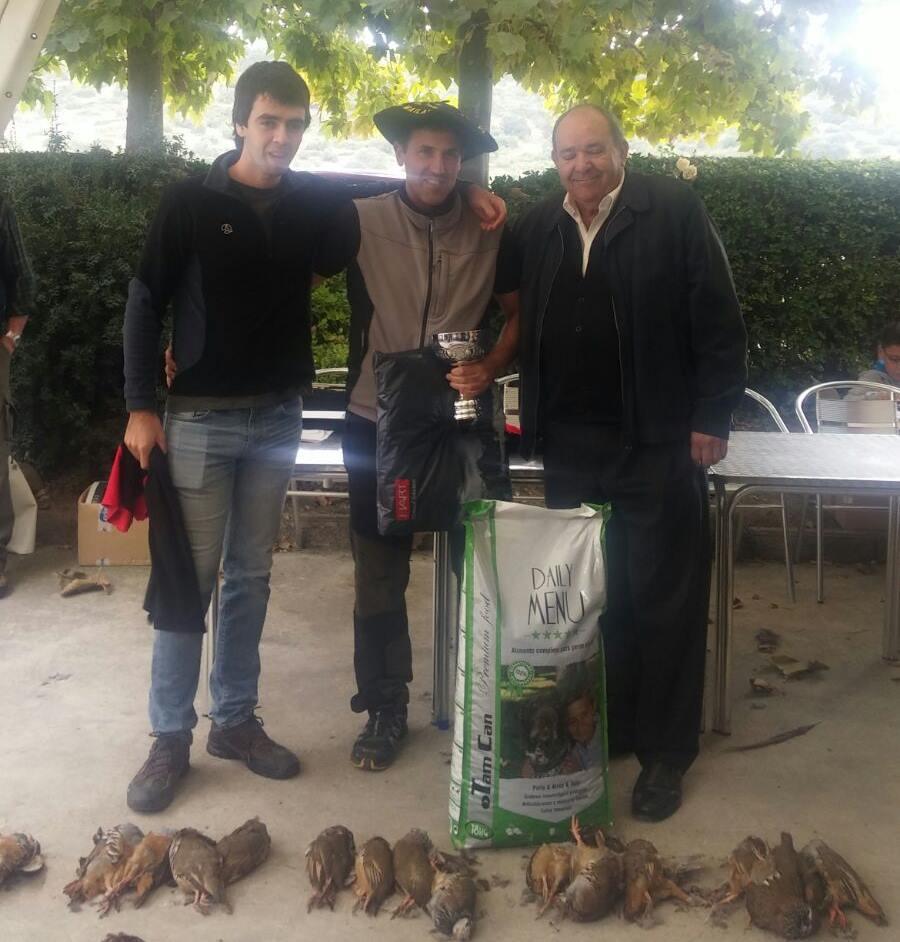 Jose Luis Toledotxiki, Campeón de Euskadi de Caza Menor con Perro
