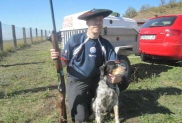 Xabier Diez gana Campeonato de Bizkaia de caza menor con perro