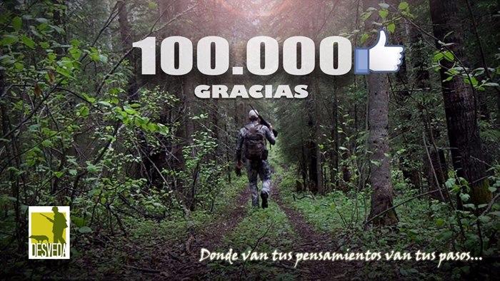 Desveda supera los 100.000 seguidores en Facebook! Muchas Gracias a todos!!