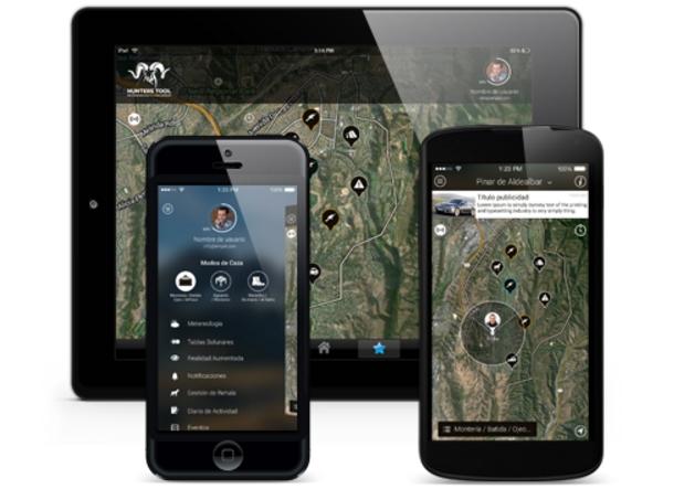 """""""Hunters Tool"""", una app para almacenar, consultar y compartir toda la información de una jornada de caza"""