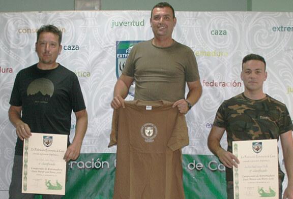 Emilio Javier Verdasco vence el Campeonato de Extremadura de Caza Menor con Perro