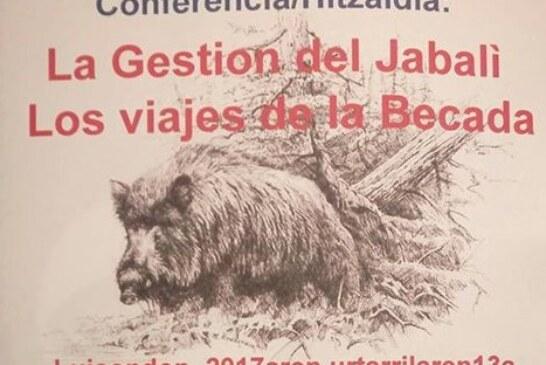 CONFERENCIA CINEGETICA EN AIARA (ALAVA)