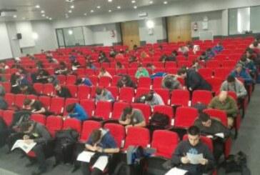 447 cazadores se presentan a la primera convocatoria anual del examen para obtener la licencia de caza en Euskadi