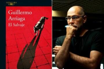 Guillermo Arriaga presentó ayer su ultima novela «El Salvaje» en Donosti