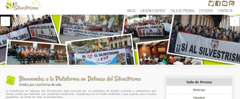 La Plataforma en Defensa del Silvestrismo estrena web