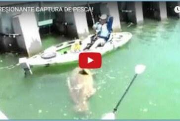 ¡IMPRESIONANTE CAPTURA DE PESCA!
