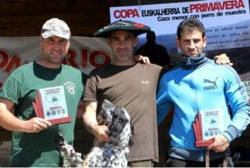 "Éxito de la ""I Copa de Euskalherria de caza menor con perro"" celebrada en Arriola (Alava)"
