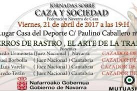 JORNADAS SOBRE CAZA Y SOCIEDAD EL PRÓXIMO VIERNES EN PAMPLONA