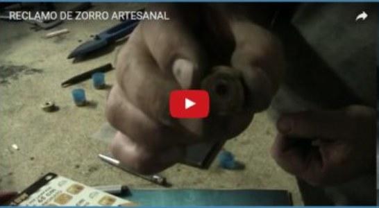 RECLAMO DE ZORRO ARTESANAL