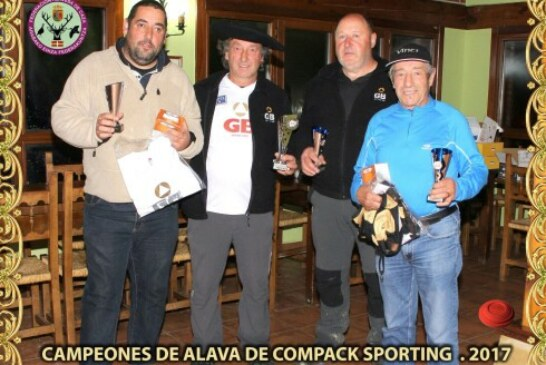 Éxito de participación en el Campeonato de Alava de Compack Sporting