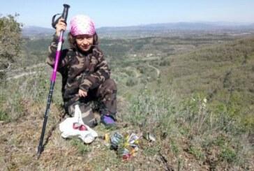 4000 kg de basura recogidos en los montes  por cazadores