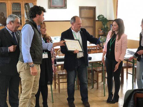 Entrega del Premio a Eduardo García Carmona periodipesca