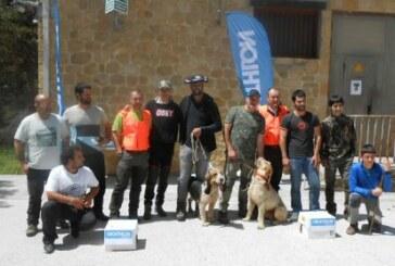 Gombi de Asier Sierra campeon de Bizkaia de Perros de Rastro