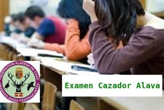 ALAVA. Cursos gratuitos examen cazador organizados por la Federación Alavesa de Caza