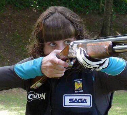La navarra Itsaso Fagoaga campeona de España de Skeet Olímpico