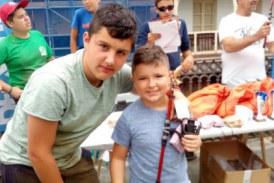 Exito de participación en el campeonato infantil de pesca ADECAPGAZTEAK
