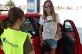 Iberlince pone en marcha una actividad de divulgación en la A4, para concienciar a los conductores sobre el paso de linces
