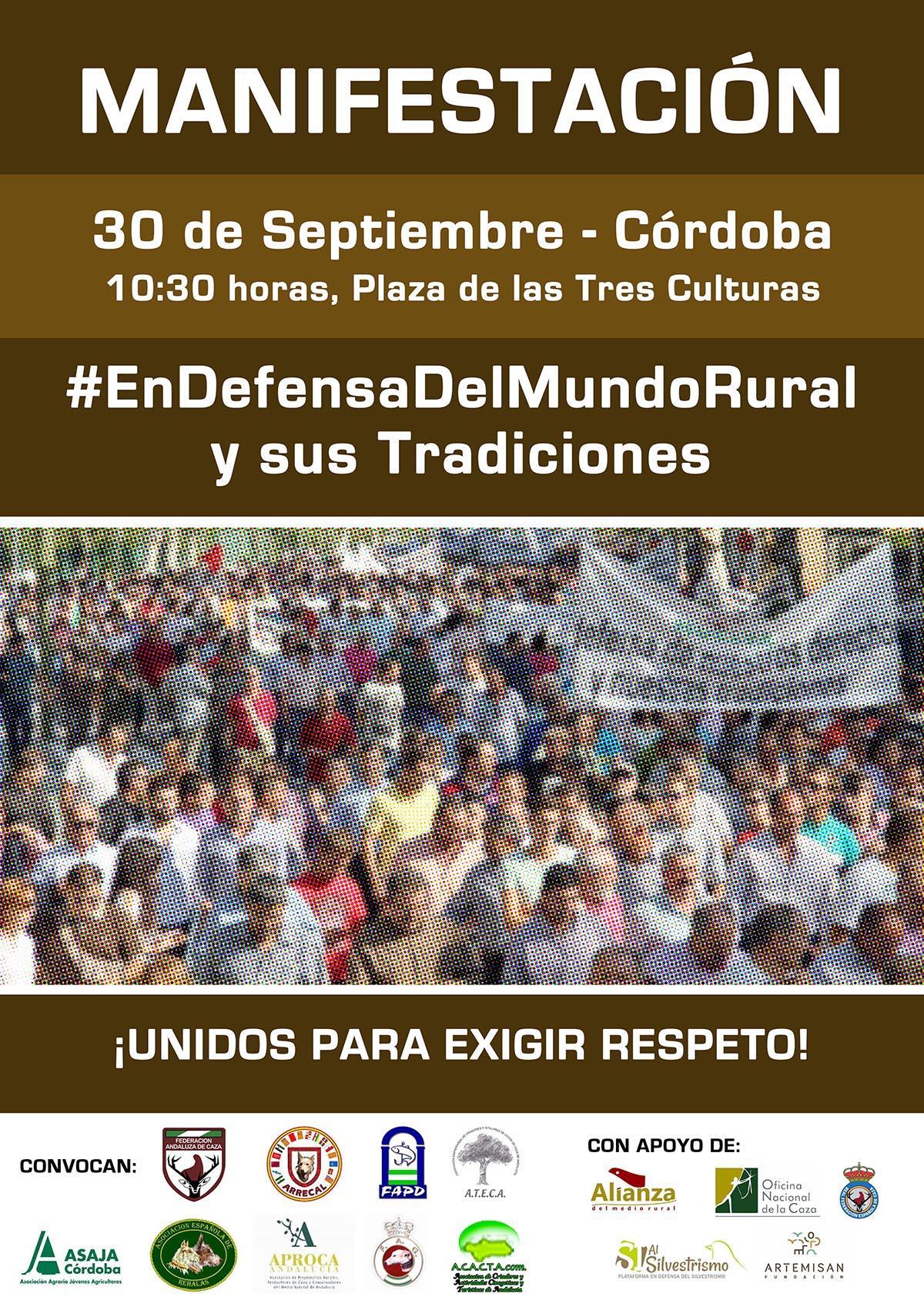 El mundo rural se reivindicará el 30 de septiembre con una manifestación
